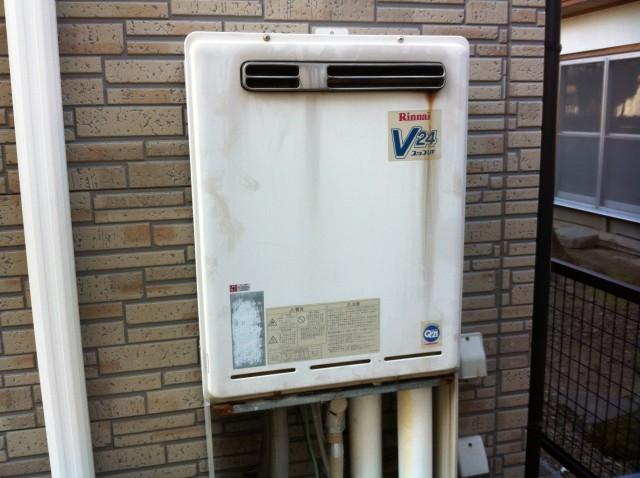 愛知県あま市 ガスふろ給湯器取替工事(ガスふろ給湯器)