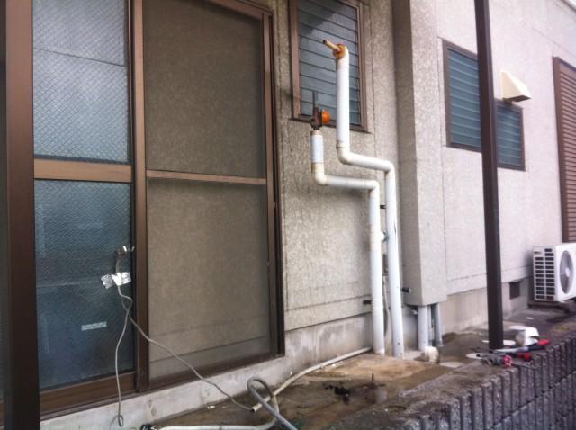刈谷市のI様 電気温水器の撤去