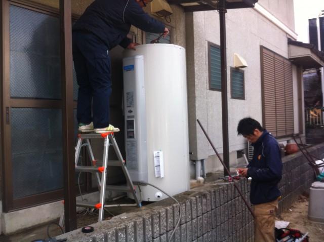 刈谷市のI様 電気温水器