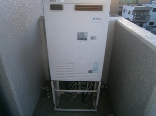 名古屋市昭和区の給湯器施工前は熱源機