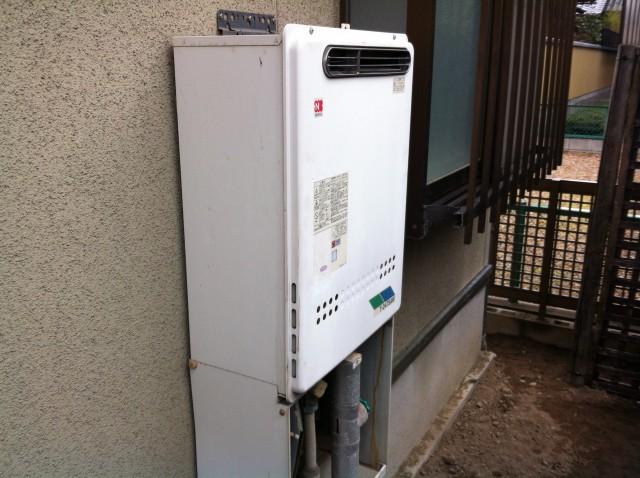 愛知県一宮市 給湯器の施工事例