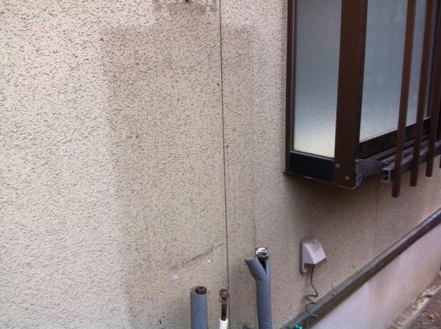 一宮市の給湯器 施工事例 給湯器を取り外しました
