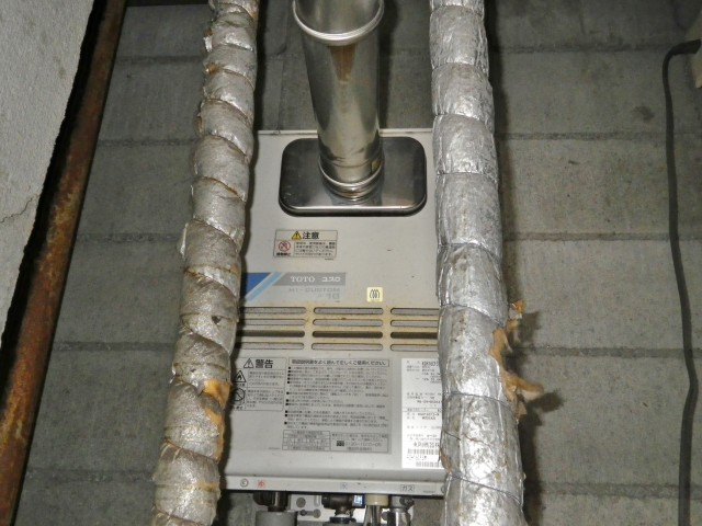 名古屋市中村区 給湯器 PS内前方排気延長タイプ