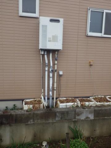 名古屋市北区 給湯器 施工事例
