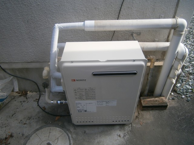 名古屋市守山区 給湯器 施工事例