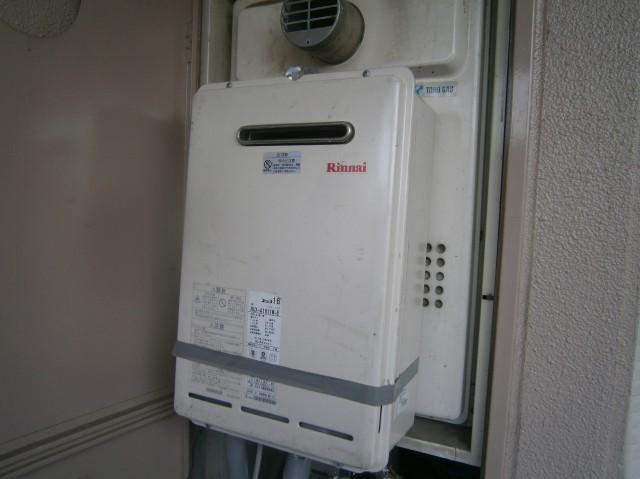 名古屋市千種区 給湯器 施工前 無料仮設置