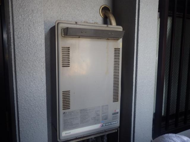東海市 ガス給湯器取替工事 施工前