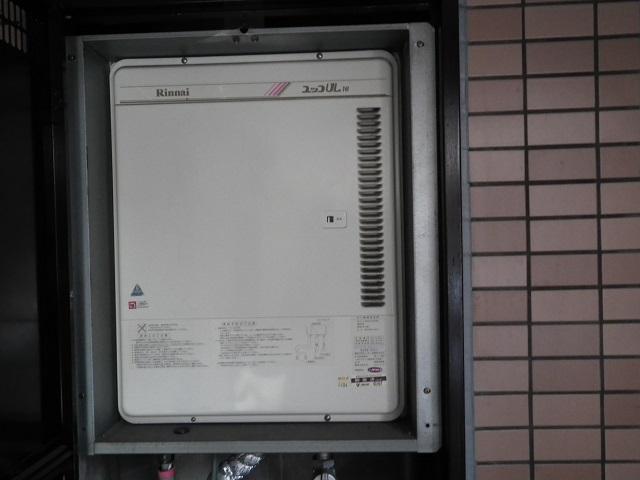 名古屋市昭和区 ガス給湯器取替工事 施工前