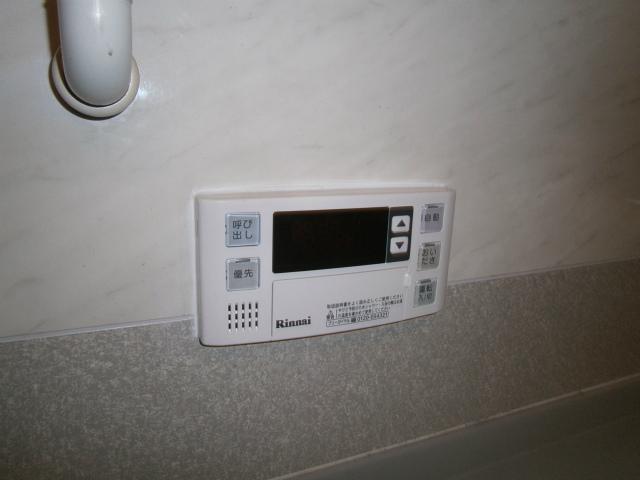 ガス給湯器取替工事 リモコン施工後