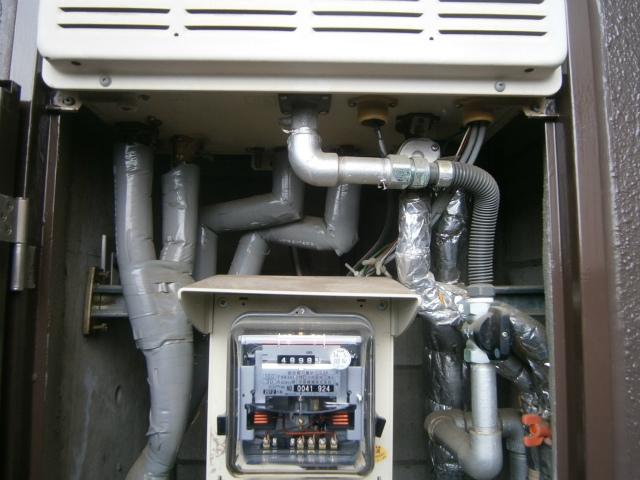 犬山市 ガス給湯器取替工事 施工前