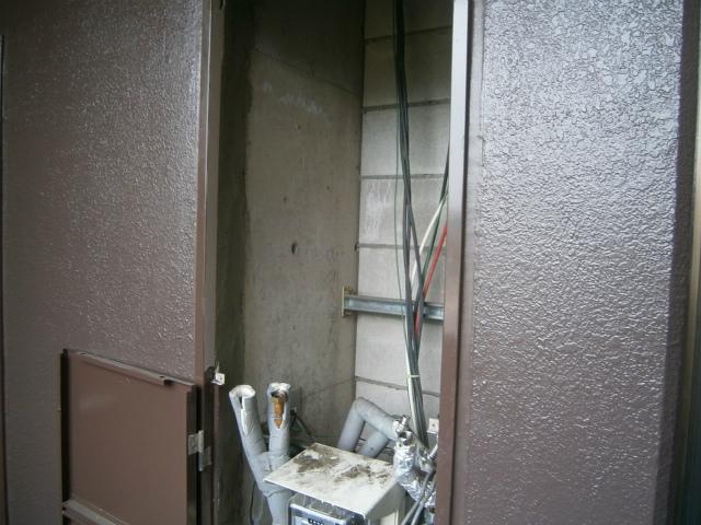 犬山市 ガス給湯器取替工事 撤去後