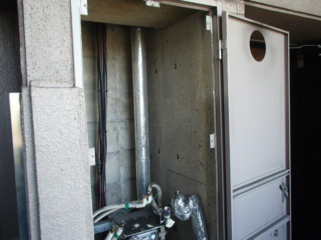 東海市 ガス熱源機取替工事 撤去後