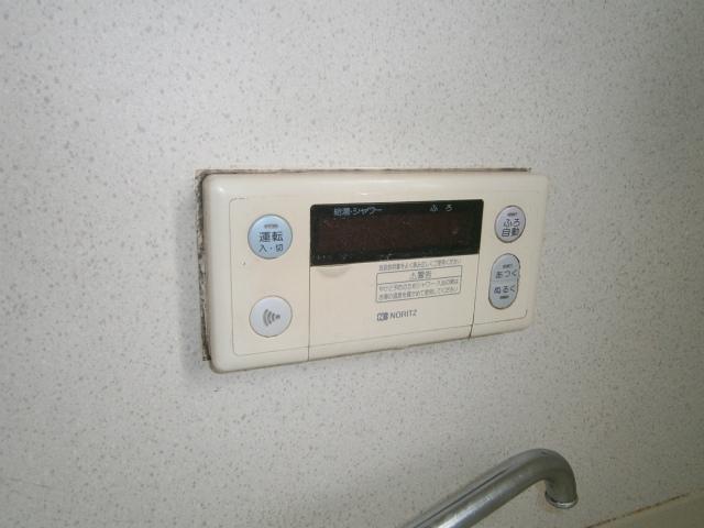 ガス給湯器取替工事 リモコン施工前