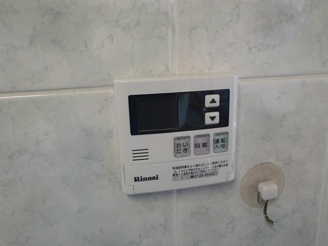 ガス熱源機取替工事 リモコン施工後