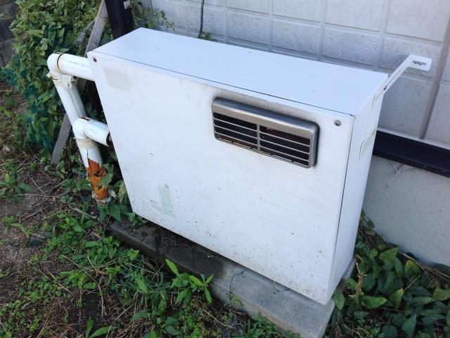 ガスふろ給湯器取替工事 施工前