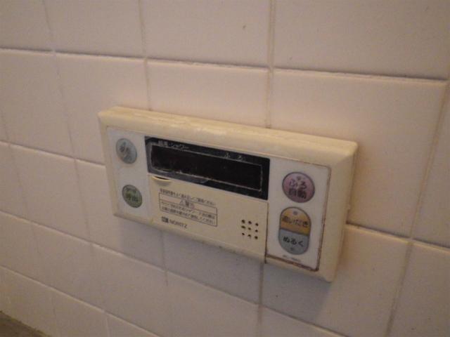 豊橋市 浴室リモコン取替前
