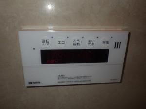 熱源機リモコン施工後