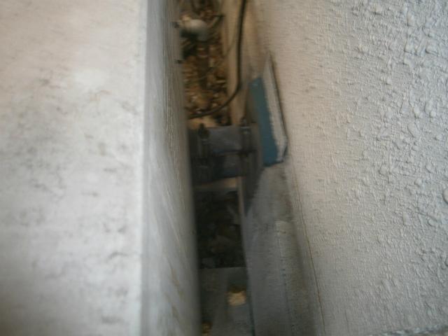 隣接型給湯器の確認