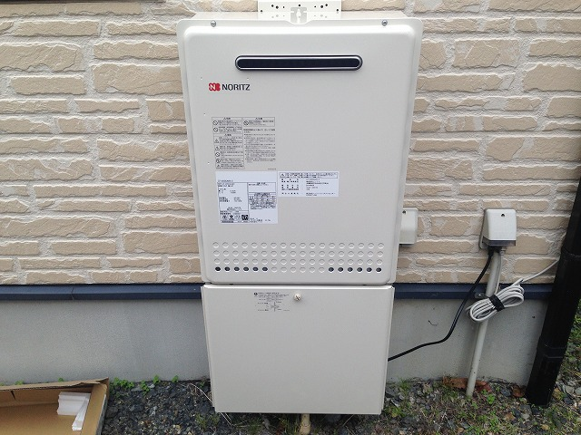 海津市給湯器取替工事 完成GT-2450SAWX