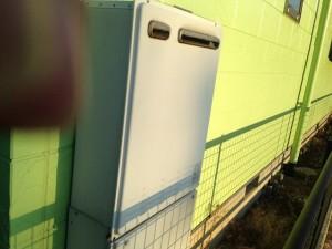 ガスふろ給湯器 取替工事 施工事例 施工前