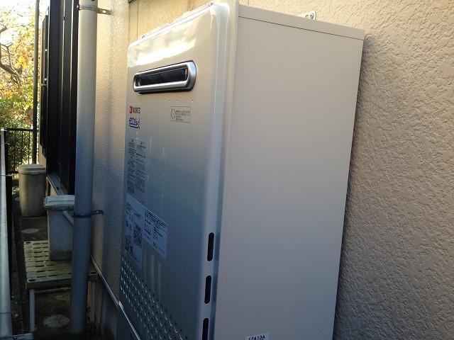 名古屋市守山区 ガスふろ給湯器取替工事 完成GT-C2052SAWX