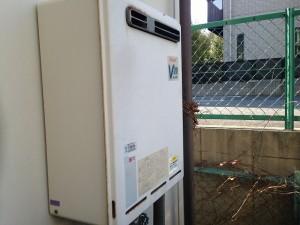 豊田市 ガスふろ給湯器 施工事例 撤去前