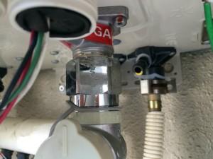 ガスふろ給湯器取替工事(千種区)チェック