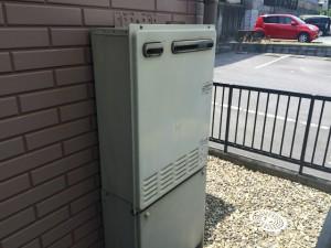 ガスふろ給湯器取替工事(知多市)施工前
