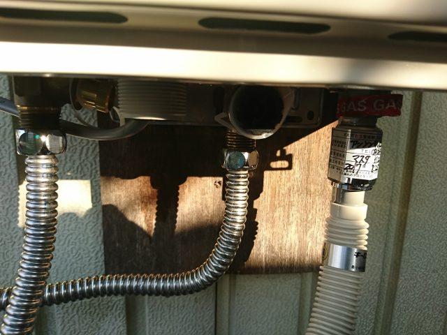 ガス、水漏れチェックOK