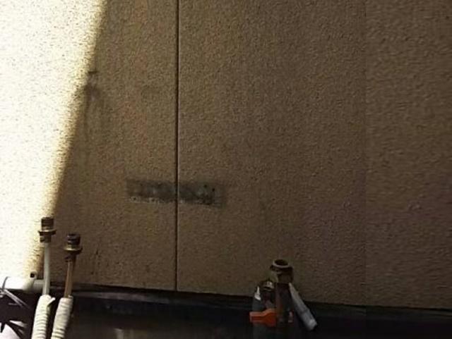 既設ガス給湯暖房システム撤去