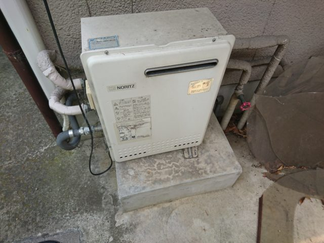 既設ガス給湯器