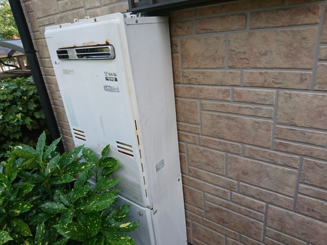 既設ガス暖房付給湯器