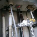 給湯器の配管接続前