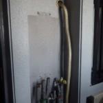 東海市 ガス給湯器取替工事 撤去後