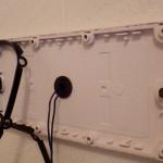ガスふろ給湯器取り替え工事 施工中