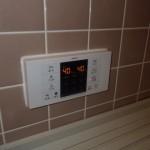東海市 ガス給湯器取替工事 リモコン取替後