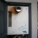 蟹江町 ガス給湯器取替工事 施工前