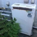 桑名市 ガス給湯器取替工事 施工前