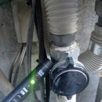 給湯器取替工事 ガス漏れチェック