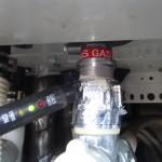 ガス漏れチェック